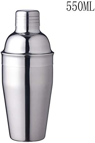 DaoRier 350ml Cocktail Shaker Intern Gebürsteter Edelstahl Bar Cocktailmixer