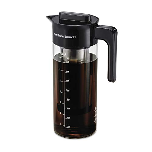 Hamilton Beach 40405R Cold Brew Coffee Maker, 57 oz/1.7 L