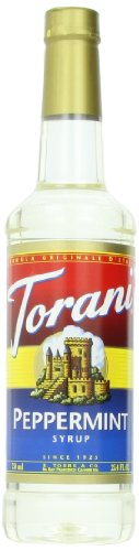 (Torani Syrup, Peppermint, 25.4 Ounces (Pack of 4))