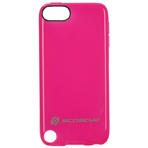 - SCOSCHE glosSEE t5 Flexible Rubber Case for iPod touch 5G (Pink)