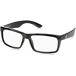 Ryders Eyewear HILLROY Cycling Sunglasses with Grey Photochromic Tint Changing Lenses, Black