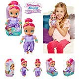 Nickelodeon NEW Shimmer and Shine Genie Babies - SHIMMER GENIE BABY DOLL (Appr 7 ()