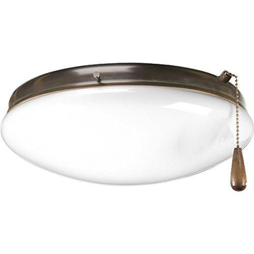 Progress Lighting P2602-20 Two-Light Universal Fan Light Kit by Progress Lighting