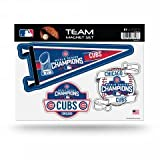 Chicago Cubs 2016 World Series Champions 3pc Magnet Set