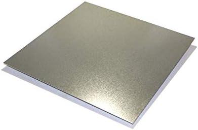 Amazon Com 3 Pieces Of Galvanized Steel Sheet Metal 24 Gauge 9 X 12 Industrial Scientific