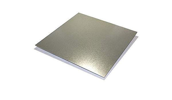 3 x 3 piece 24 gaugeZinc galvanized steel sheet metal 10 pieces
