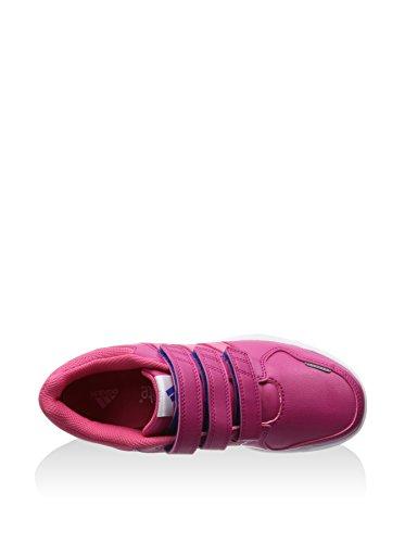 adidas LK Trainer 6 CF K - Zapatillas para niño Rosa / Fucsia / Blanco