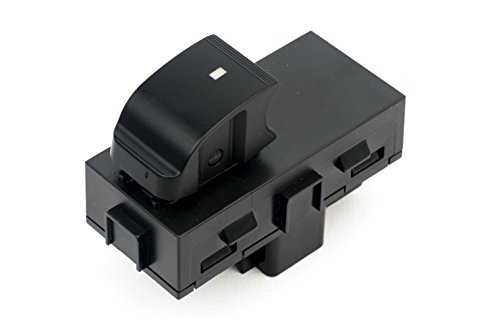 Power Window Switch - Passenger Front Right, Rear Left or Right - Window Buttons - Replaces 22895545, 15888174, 901-149 - Fits GMC Acadia, Sierra, Chevy Silverado, Tahoe Years 2006 - 2015 and more Ac Delco Window Switch