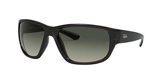 Ray-Ban 0RB4300 Gafas de sol, Transparente Grey, 62 para ...