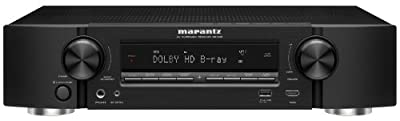 Marantz NR1603 Slim Line 7.1 Channel 3D Pass Through Networking Home Theater Receiver with AirPlay (Black) (Discontinued by Manufacturer)