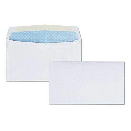 Quality Park, #6 3/4 Security Envelopes, Contemporary Seam, 500 Per Box (10412)