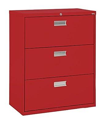 e2023d5664f Amazon.com  Sandusky Lee LF6A363-01 600 Series 3 Drawer Lateral File Cabinet