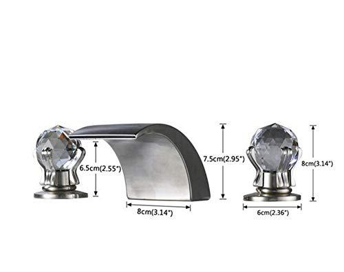 Brass Brass Brass Wall Faucet Chrome Brass Faucet Faucet Chrome Finish Mixer Faucet Deck Mount a3cbbf
