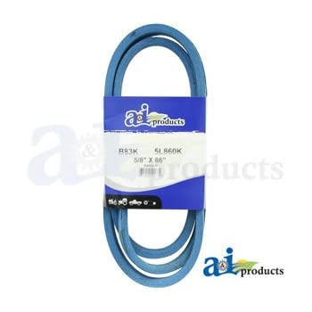 Amazon com: A&I - Kevlar Blue V-Belt (5/8
