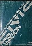 1991 HONDA CIVIC WAGON Electrical Wiring Troubleshooting Service Manual OEM x 88