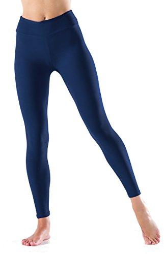(LMB Lush Moda Extra Soft Leggings - Variety of Colors - Yoga Waist - Navy)