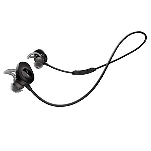Bose SoundSport Wireless Headphones, Black (Renewed)