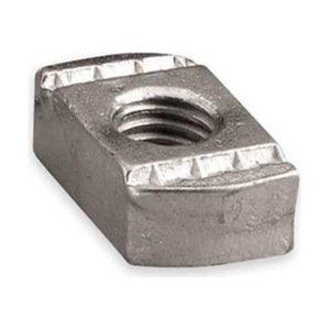 Channel Nut w/o Spring, 1/2-13 In, Steel