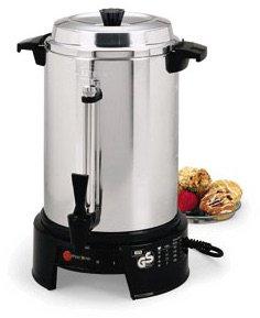 Focus Foodservice 58016V 36 Cup West Bend 220-240V Coffee Maker by Focus Foodservice