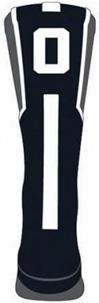 TCK Player Id Custom Number Crew Sock (#0 - Single Sock, Small)