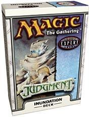 (Magic the Gathering MTG Judgment Inundation Theme Deck)