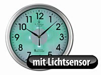 Amazon.de: St.Leonhard Funk-Wanduhr Küche Küchenuhr Licht Funkuhr ...