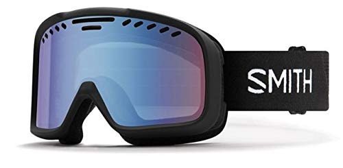 Smith Optics Project Adult Snow Goggles - Black/Blue Sensor Mirror/One Size