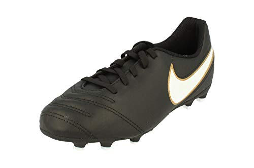 low priced 616dc 2d91a ... ireland fg nike boots black iii football tiempo white black jnr  rf7afzxwt 3d21f 24e19