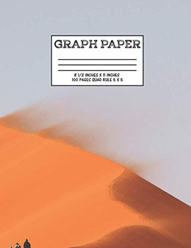 (Graph Paper: Notebook Desert Dunes Cute Pattern Cover Graphing Paper Composition Book Cute Pattern Cover Graphing Paper Composition Book)