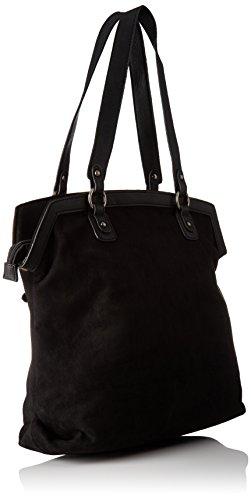 Les Tropéziennes Gul01 - Borse a spalla Donna, Noir (Black), 16x38x36 cm (W x H L)