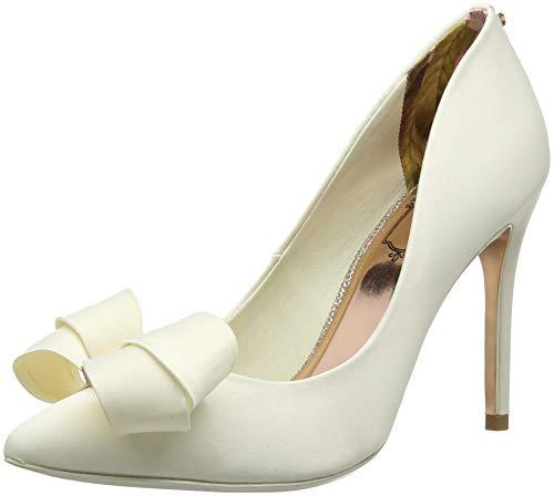 Mujer Ivory con Zapatos Baker para Ted Tacón Punta Skalett Marfil Cerrada de Ivory qARHn1w