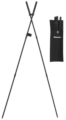 Hammers 39'' bungee corded collapsible shooting stick stiX bipod,black,9MM by Hammers