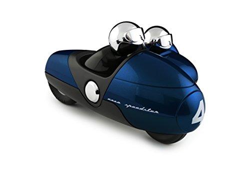 Blue Motorbike Helmet - 3