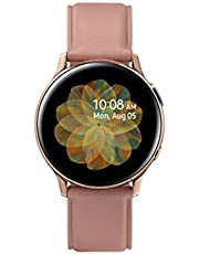 Samsung Galaxy Watch Active 2, 40 mm Stainless Steel, Rose Gold - SM-R830NSDAKSA