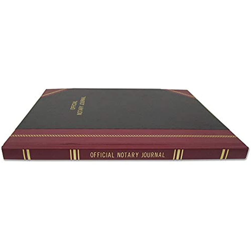 "Official Notary Journal/Log Book 96 Pages 8.5"" X 11"" 380"