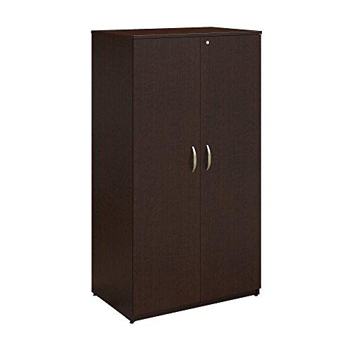 - Bush Business Furniture Series C Elite 36W Storage Wardrobe Tower in Mocha Cherry
