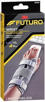 (FUTURO Deluxe Wrist Stabilizer Left Hand Large-X-Large Tan 1 Each)