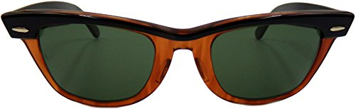 New Vintage Wayfarer Ray-Ban Original Bausch & Lomb Limited Edition Color - Real Ban Ray