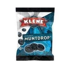Klene Black Licorice Coins 7 Oz Bag (Pack of 12)