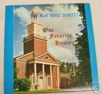 Our Favorite Hymns  By The Blue Ridge Quartet    Lp  Vinyl Record  Qcr  91259
