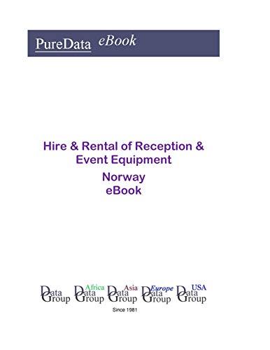 Hire & Rental of Reception & Event Equipment in Norway: Market Sales