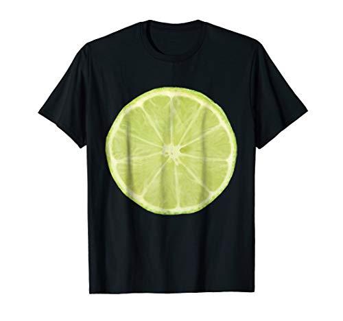 Lime Shirt Easy Funny Matching Halloween Costume Fruits Tee ()