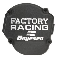 Boyesen SC-02B Black 'Factory Racing' Ignition Cover