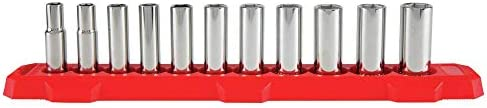 CRAFTSMAN Socket Set, Metric, 3/8-Inch Drive, 6-Point, 11-Piece (CMMT12045)
