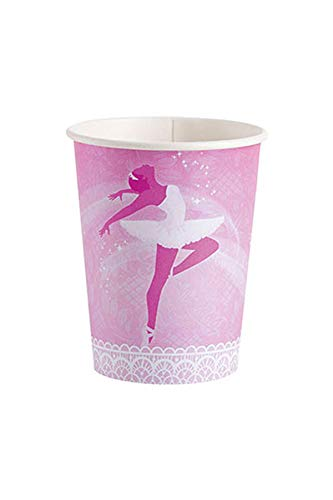 (Ballet Paper Cups 266ml Pack of 8)