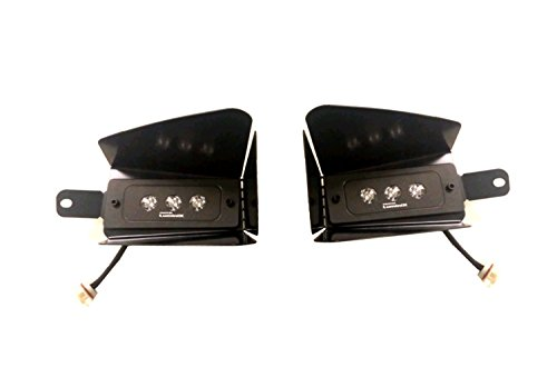 Putco 12008 Luminix High Power LED Fog Lamps for Chevrolet Silverado, 1 Pair