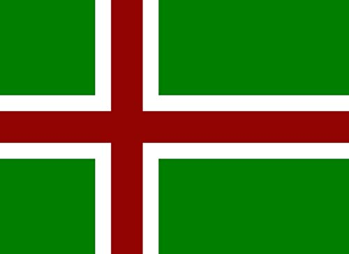 magFlags Large Flag Nordic Cross Flag of Meryas | Landscape Flag | 1.35m² | 14.5sqft | 100x140cm | 40x55inch - 100% Made in Germany - Long Lasting Outdoor Flag