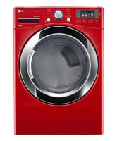 LG DLGX3371R 7.4 Cu. Ft. Wild Cherry Red Stackable With Steam Cycle Gas Dryer – Energy Star Top Offers