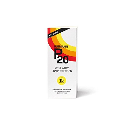 Riemann P20 Sun Filter 200ml SPF15 (Pack of 6)