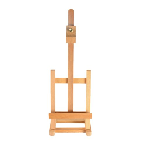 Displays2go ARTSNCC3 Tabletop Easels for Artists with Adjustable Header for Canvases, Set of 5 ()